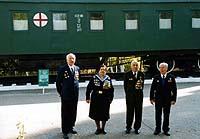 Встреча ветеранов военно-санитарного поезда