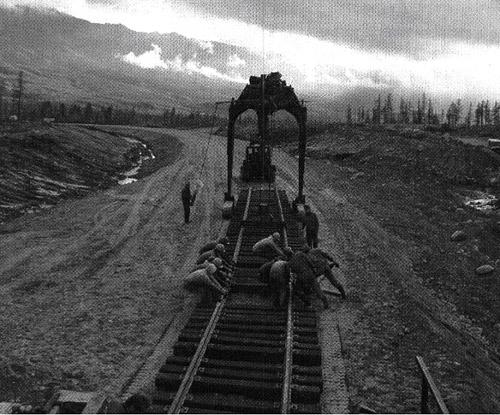Байкало-Амурская магистраль (история строительства БАМа)