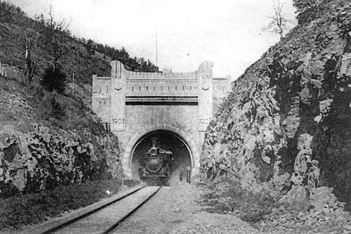Железная дорога возле ст. Хинган КВЖД