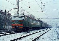 Первые электропоезда в Советском Союзе