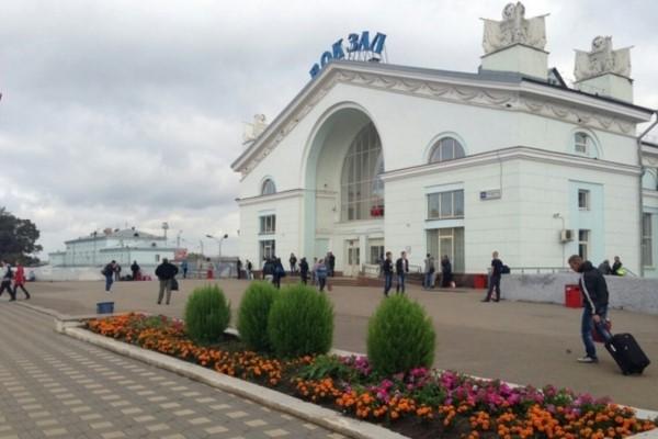 Горьковская железная дорога - вокзал города Киров