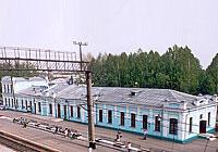 Станция Топки