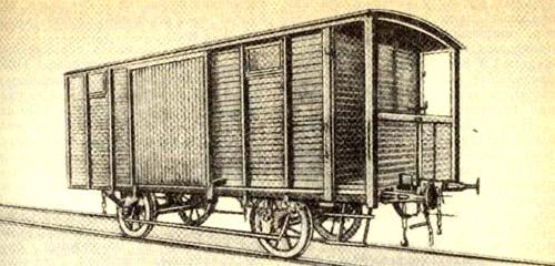 История вагоностроения в России