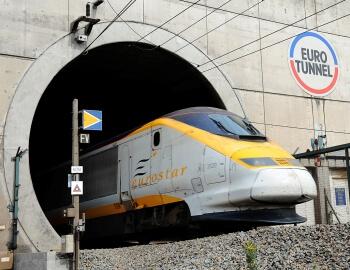 Железнодорожный тоннель под Ла-Маншем